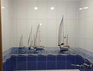 Комплект 3D панелей для ванной PM-31