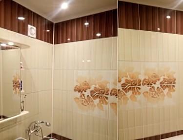 Комплект 3D панелей для ванной UEC-04