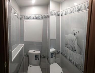 Комплект ПВХ панелей для туалета NJ-01