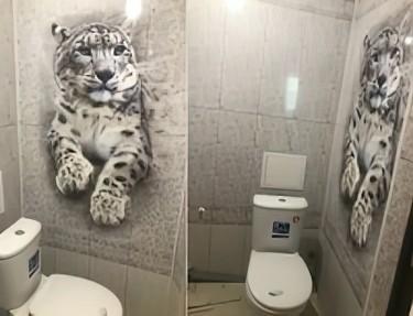 Комплект ПВХ панелей для туалета PJ-01