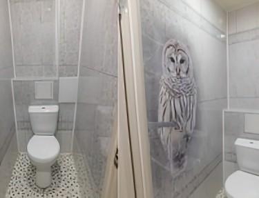 Комплект ПВХ панелей для туалета PJ-02