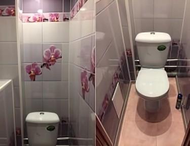 Комплект ПВХ панелей для туалета UC-03