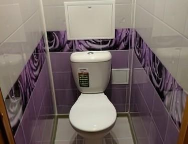 Комплект - ПВХ панель для туалета № UC-06 2700х250х8мм