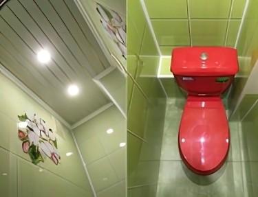 Комплект ПВХ панелей для туалета UC-16