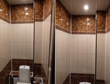 Комплект ПВХ панелей для туалета UC-91