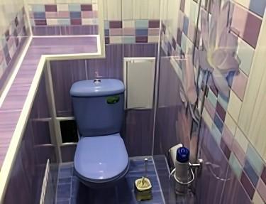 Комплект ПВХ панелей для туалета VC-07