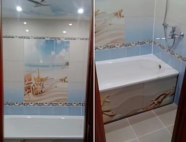 Комплект панелей ПВХ для ванной NM-15