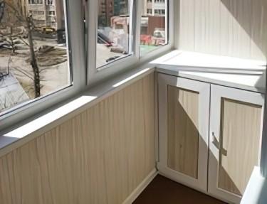 Набор ПВХ панель для балкона № L-11 2700х250х8мм