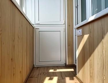 Комплект стеновых панелей ПВХ для балкона L-13
