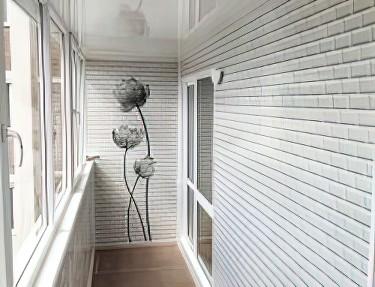 Набор ПВХ панель для балкона № VC-02 2700х375х8мм