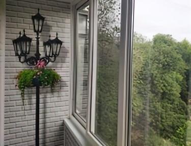 Комплект стеновых панелей ПВХ для балкона VK-16