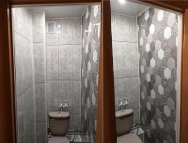 Панель ПВХ - комплект для туалета № NA-04 2700х250х8мм