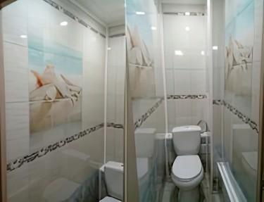 Комплект стеновых панелей ПВХ для туалета NM-32