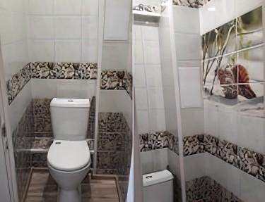 Комплект ПВХ панелей для туалета NM-40