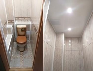 Комплект стеновых панелей ПВХ для туалета PG-17