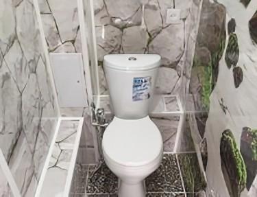Комплект стеновых панелей ПВХ для туалета PK-07