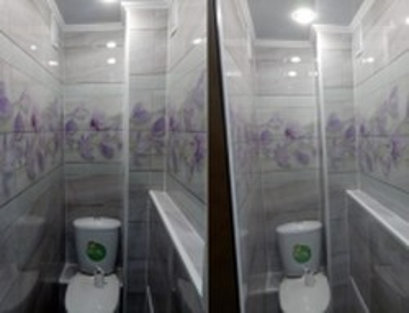 Комплект - ПВХ панель для туалета № UC-49 2700х250х8мм