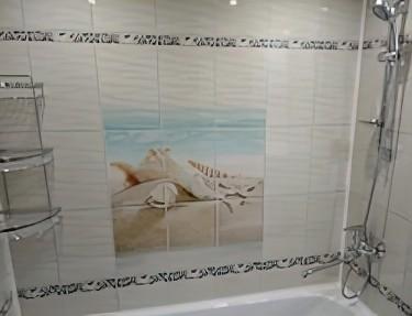 Комплект панелей ПВХ для ванной NM-32