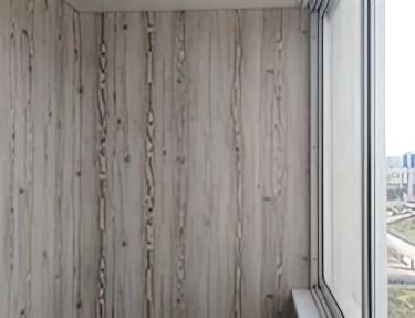 Комплект стеновых панелей ПВХ для балкона L-12