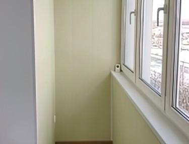 Комплект стеновых панелей ПВХ для балкона L-16