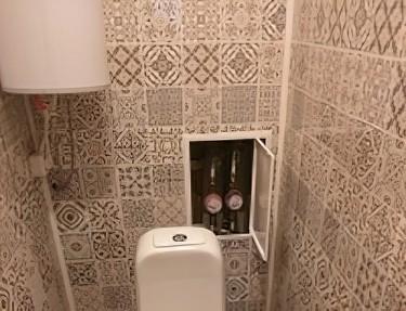Комплект - ПВХ панель для туалета № NA-02 2700х250х8мм