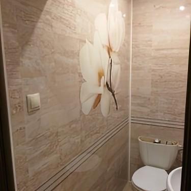 Комплект стеновых панелей ПВХ для туалета PC-11