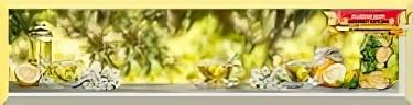 МДФ фартук Липовый чай 2800х610