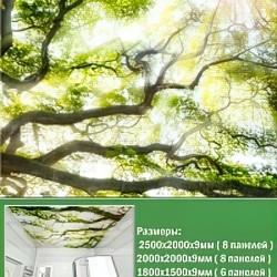 Потолочная панель ПВХ № PN-17 1800x1500