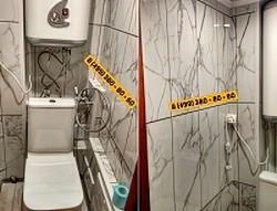 Панель ПВХ - комплект для туалета № UK-06 2700х250х8мм