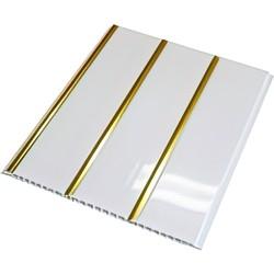 Потолочная панель ПВХ  Золото 240 мм