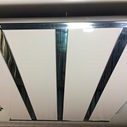 Потолок реечный алюминиевый № B-18-2