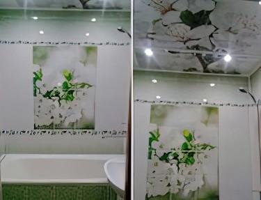 Комплект ПВХ панелей для ванной NC-03
