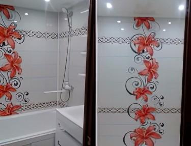 Комплект ПВХ панелей для ванной NC-13