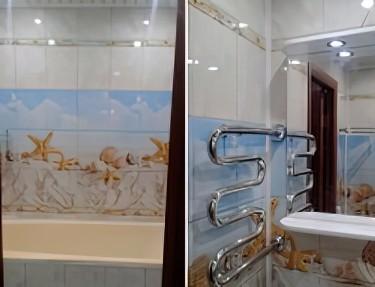 Комплект ПВХ панелей для ванной UM-38