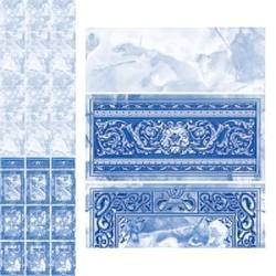 Панели с фризом, Барон синий