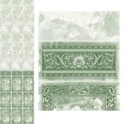 Панели с фризом, Барон зеленый